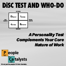 DiSC TEST and WHO-DO title graphic