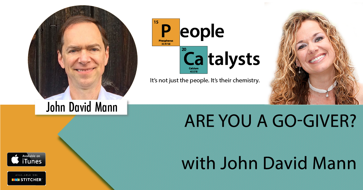 Are You A Go-Giver? with John David Mann